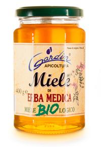 Miele di erba medica biologico