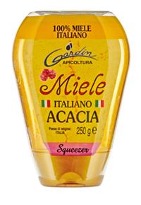 Miele italiano acacia squeeze esterna