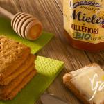 Cracker integrali al miele di millefiori - Apicoltura Gardin