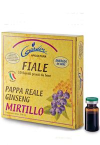 Fiale pappa reale ginseng mirtillo - esterna2